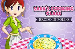 Brodo di pollo giochi di cucina con sara - Giochi di cucina sara ...